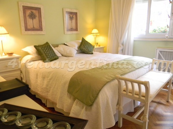 Coronel Diaz et Charcas: Furnished apartment in Palermo