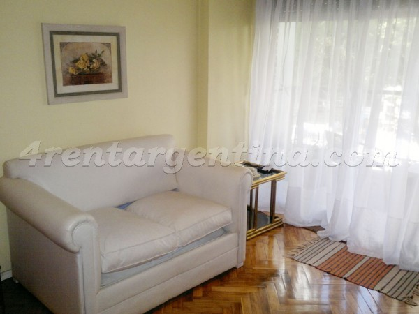 Charcas and Gurruchaga: Apartment for rent in Palermo