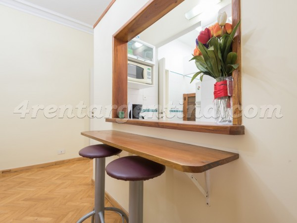 Las Heras and Uriburu III: Furnished apartment in Recoleta