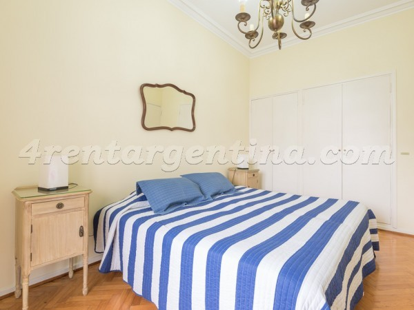 Las Heras and Uriburu III: Apartment for rent in Recoleta