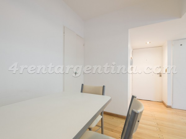 Azcuenaga and Guido VI: Apartment for rent in Recoleta