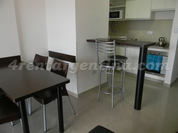 Corrientes and Pringles II: Furnished apartment in Almagro