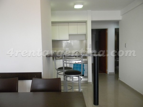 Corrientes et Pringles II: Furnished apartment in Almagro