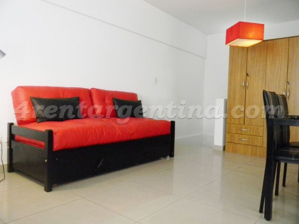 Peron and Montevideo VI, apartment fully equipped