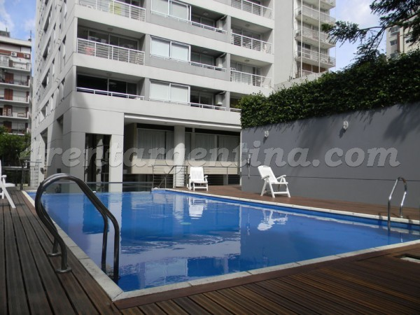 Amenabar and Blanco Encalada: Furnished apartment in Belgrano
