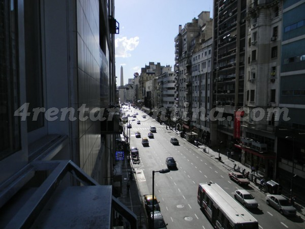 Maipu and Corrientes III, apartment fully equipped