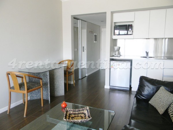 Austria and Las Heras I: Furnished apartment in Recoleta