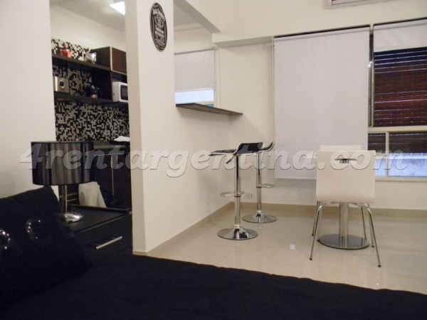 Florida and Viamonte, apartment fully equipped