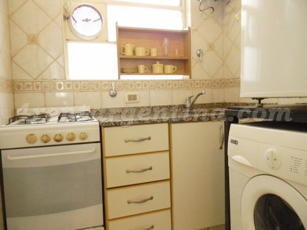 Anchorena and Paraguay: Furnished apartment in Palermo