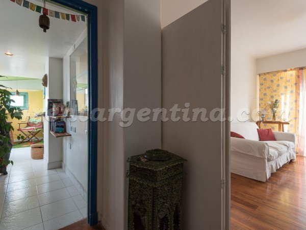 Medrano and Mansilla, apartment fully equipped