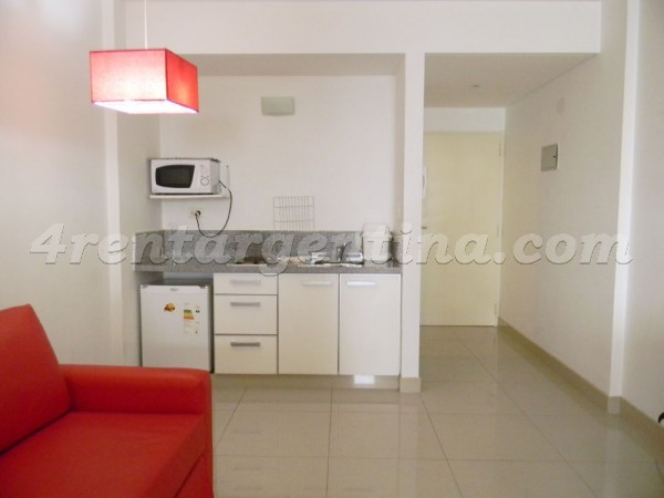 Peron and Montevideo VII, apartment fully equipped