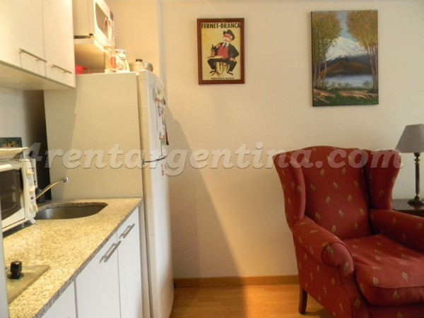 Apartment Valentin Gomez and Billinghurst III - 4rentargentina