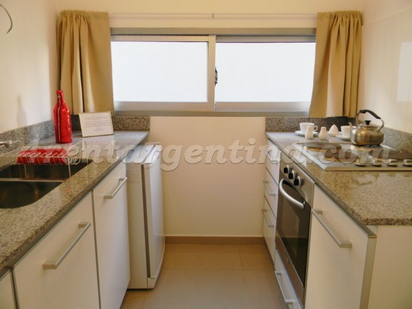Corrientes and Aguero: Furnished apartment in Abasto