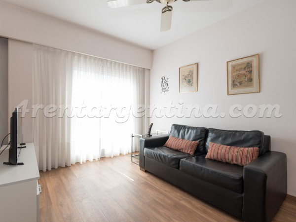 Castex et San Martin de Tours: Furnished apartment in Palermo