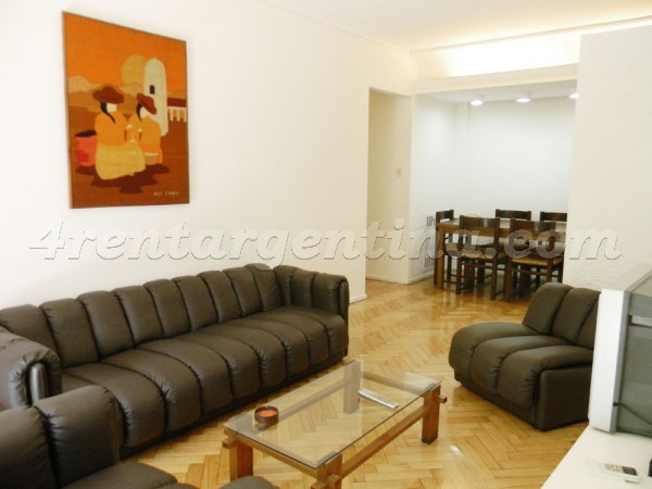 Bustamante and Las Heras I: Apartment for rent in Recoleta