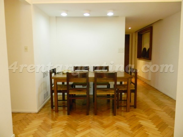 Bustamante et Las Heras I: Apartment for rent in Recoleta