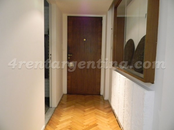 Bustamante et Las Heras I: Furnished apartment in Recoleta
