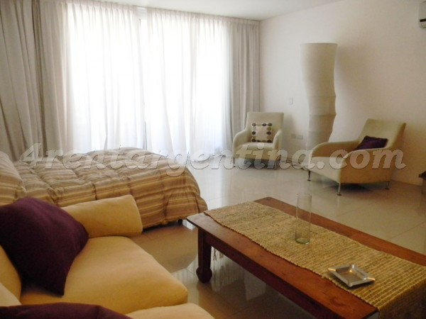 Guemes and Thames VI: Apartment for rent in Palermo