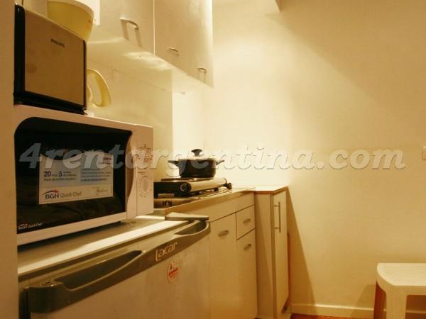 Apartamento Talcahuano e Santa Fe - 4rentargentina