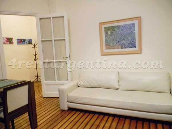 Santa Fe et Riobamba II: Apartment for rent in Recoleta