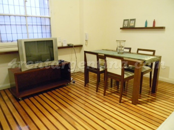 Santa Fe et Riobamba II: Apartment for rent in Buenos Aires