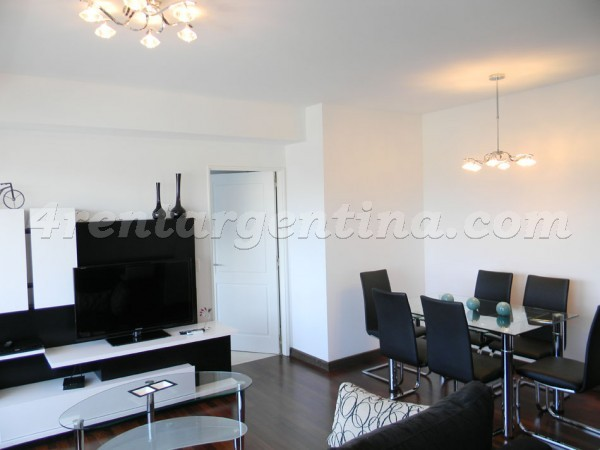 Pe�aloza and Juana Manso, apartment fully equipped
