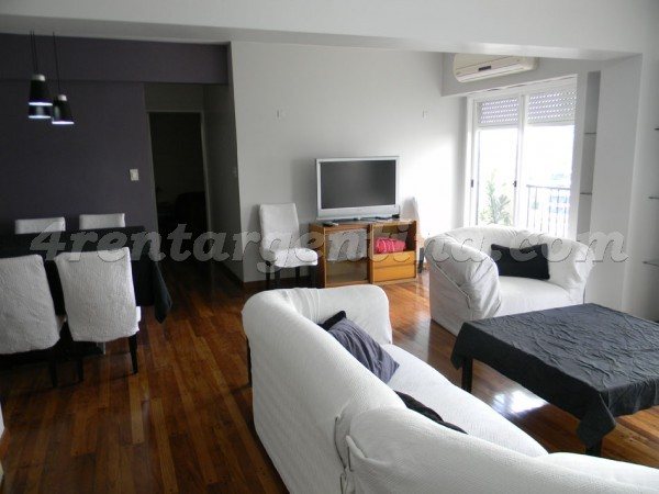 L.M. Campos et Dorrego I, apartment fully equipped
