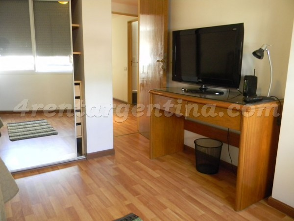 Crisologo Larralde and Libertador, apartment fully equipped