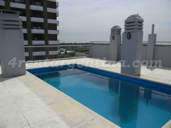 Crisologo Larralde and Libertador: Furnished apartment in Belgrano