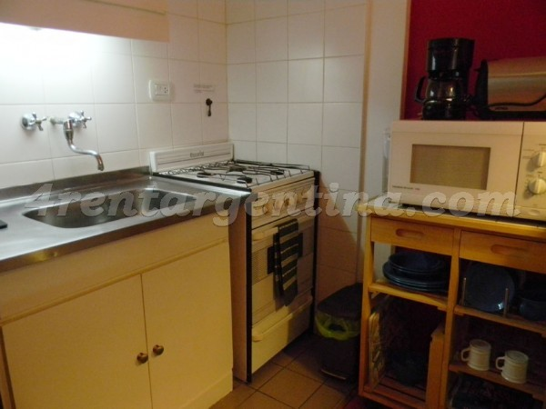 Migueletes et Matienzo I, apartment fully equipped