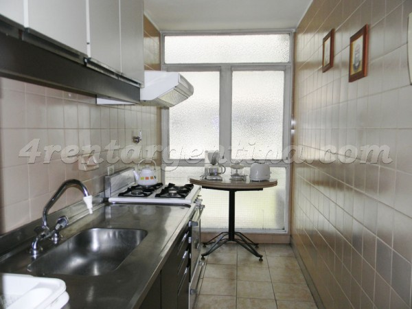 Ayacucho and M.T. Alvear: Furnished apartment in Recoleta