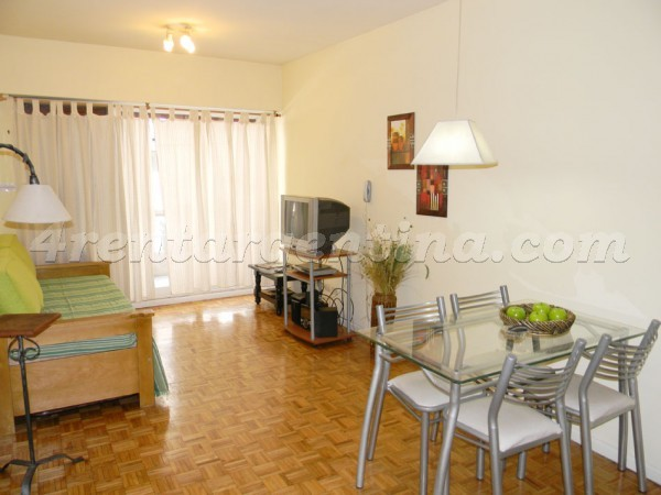 Ayacucho and M.T. Alvear, apartment fully equipped