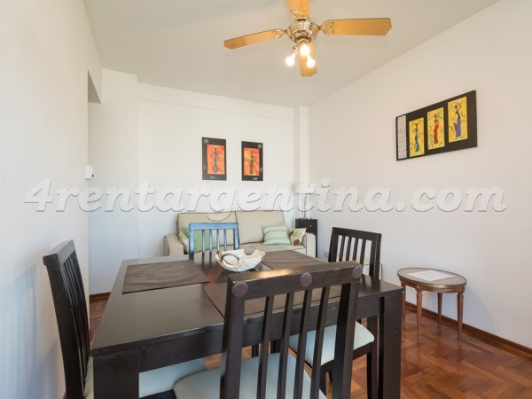 Cuba et La Pampa: Furnished apartment in Belgrano