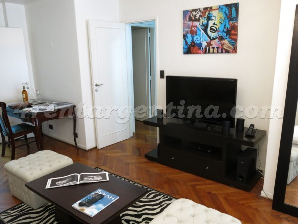 Salguero and Arenales, apartment fully equipped