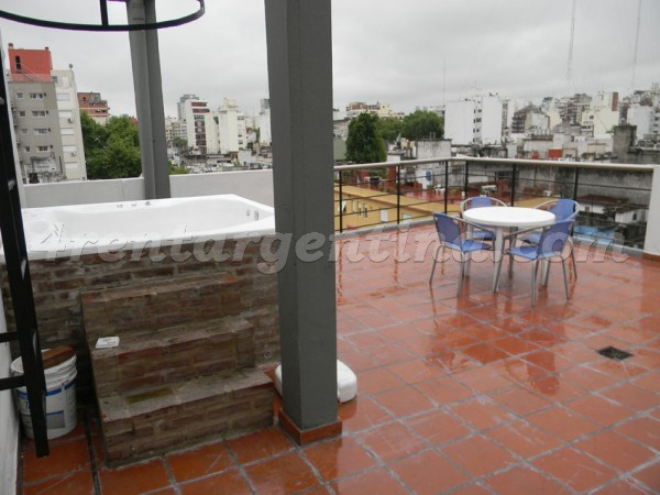 Bustamante and Guardia Vieja VIII: Furnished apartment in Abasto
