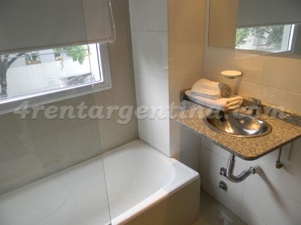 Bustamante and Guardia Vieja X: Furnished apartment in Abasto