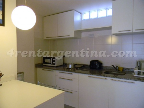 Bustamante and Guardia Vieja XIII: Furnished apartment in Abasto