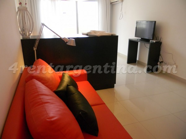 Peron and Montevideo IX, apartment fully equipped