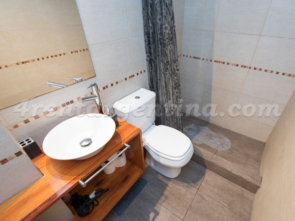 Maipu and Corrientes IV: Furnished apartment in Downtown
