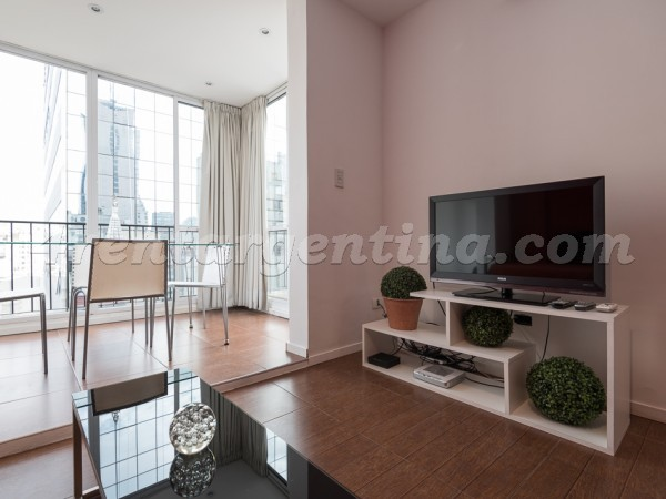 Maipu and Corrientes IV, apartment fully equipped