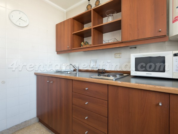 Santa Fe et Pueyrredon, apartment fully equipped