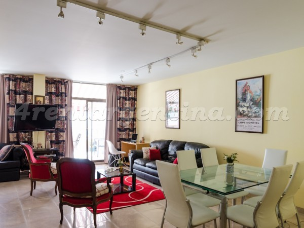 Juncal and Parana: Apartment for rent in Recoleta