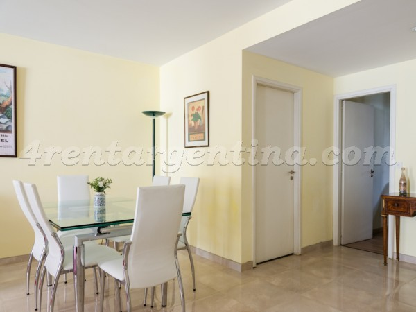 Juncal and Parana: Furnished apartment in Recoleta