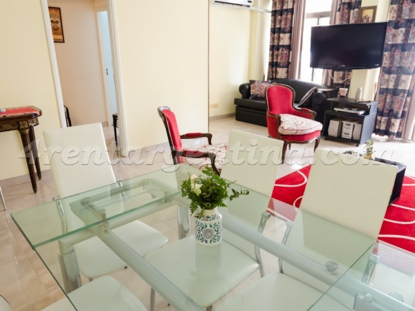 Apartment for temporary rent in Recoleta