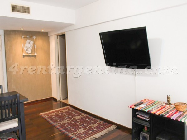 Olleros and L. M. Campos I, apartment fully equipped