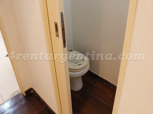 Olleros and L. M. Campos I: Apartment for rent in Buenos Aires