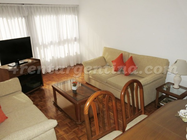 Arenales and Cerrito, apartment fully equipped