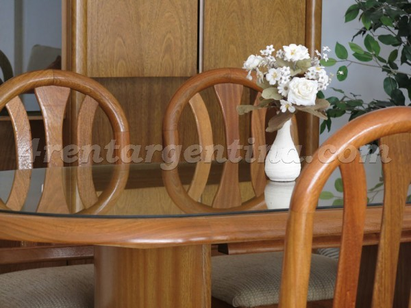 Arenales and Cerrito: Furnished apartment in Recoleta