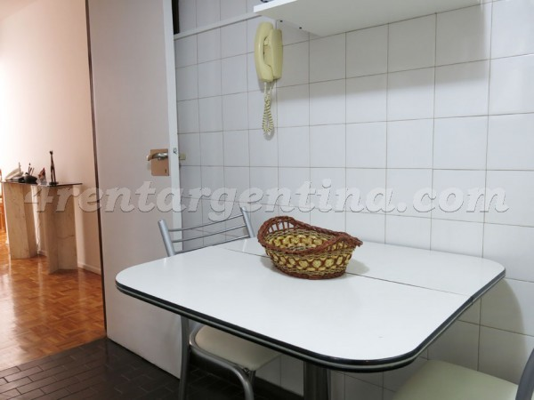 Arenales and Cerrito: Apartment for rent in Recoleta