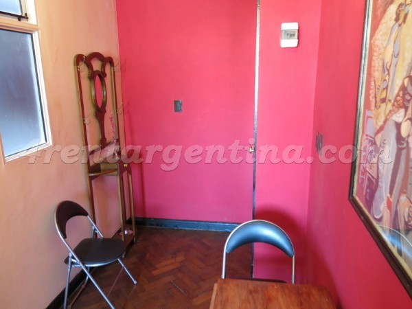 Piedras and Chile I: Furnished apartment in San Telmo